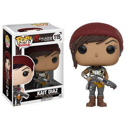Funko Pop Kait Diaz: Gears of War #115 - Funko
