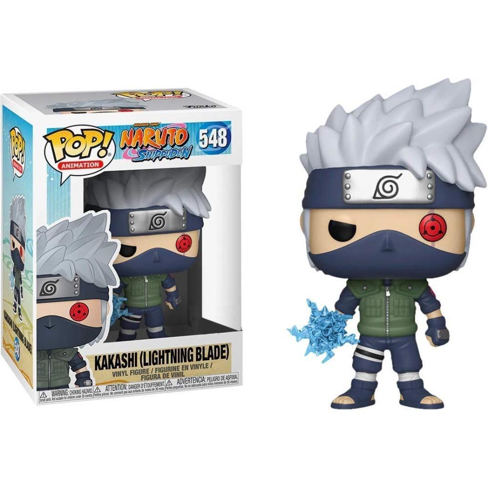 Funko Pop! Kakashi (Lightning Blade): Naruto Shippuden (Exclusivo) #548 - Funko