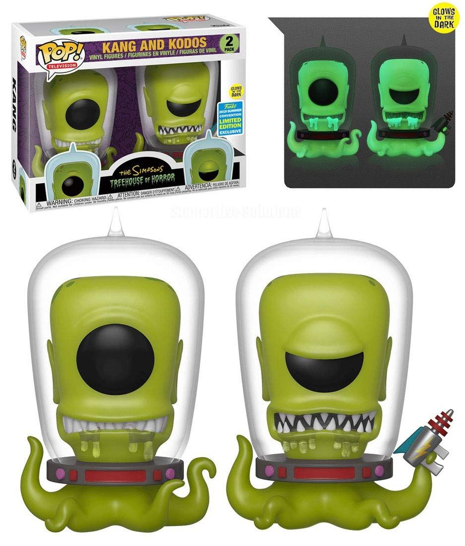 Pop! Kang & Kodos (GITD): Os Simpsons (Exclusivo SDCC 2019) #2 - Funko