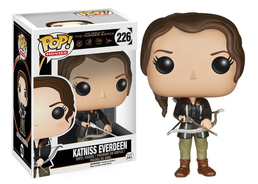 Funko Pop Katniss Everdeen: Jogos Vorazes #226 - Funko