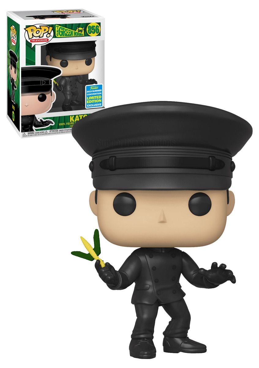 Pop! Kato: O Besouro Verde (The Green Hornet) (Exclusivo SDCC) #856 - Funko