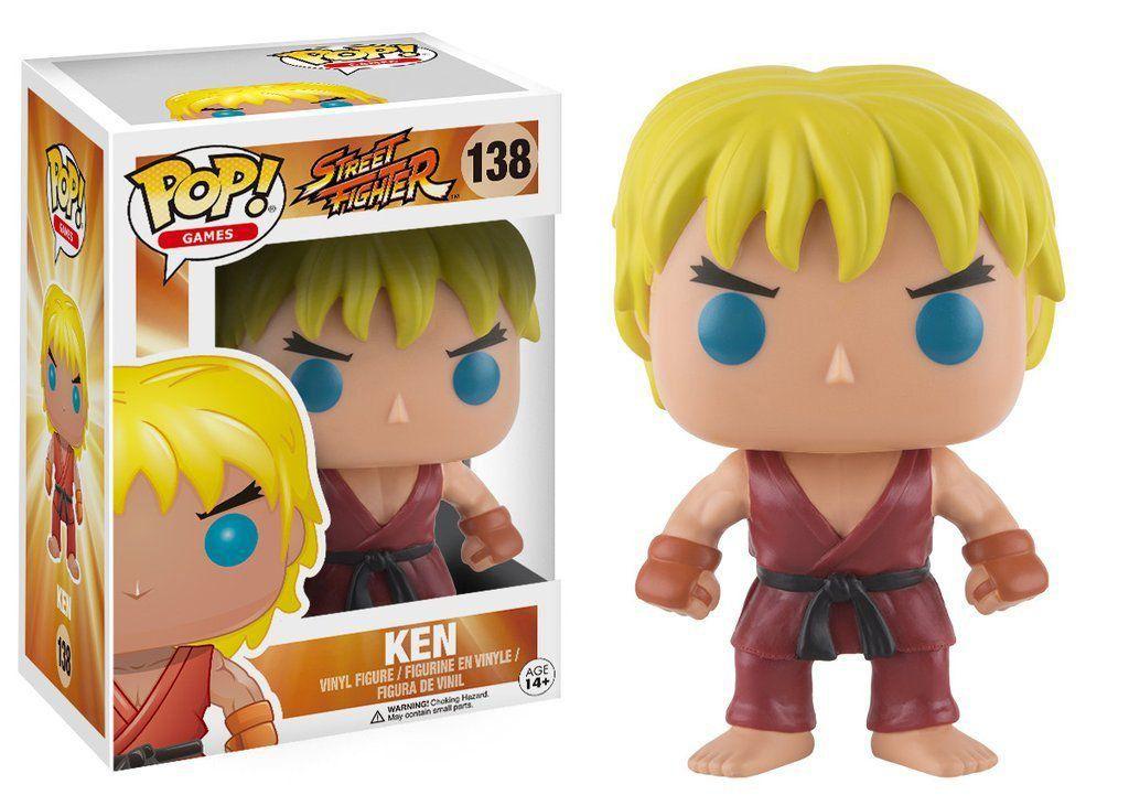 Funko Pop Ken: Street Fighter #138 - Funko