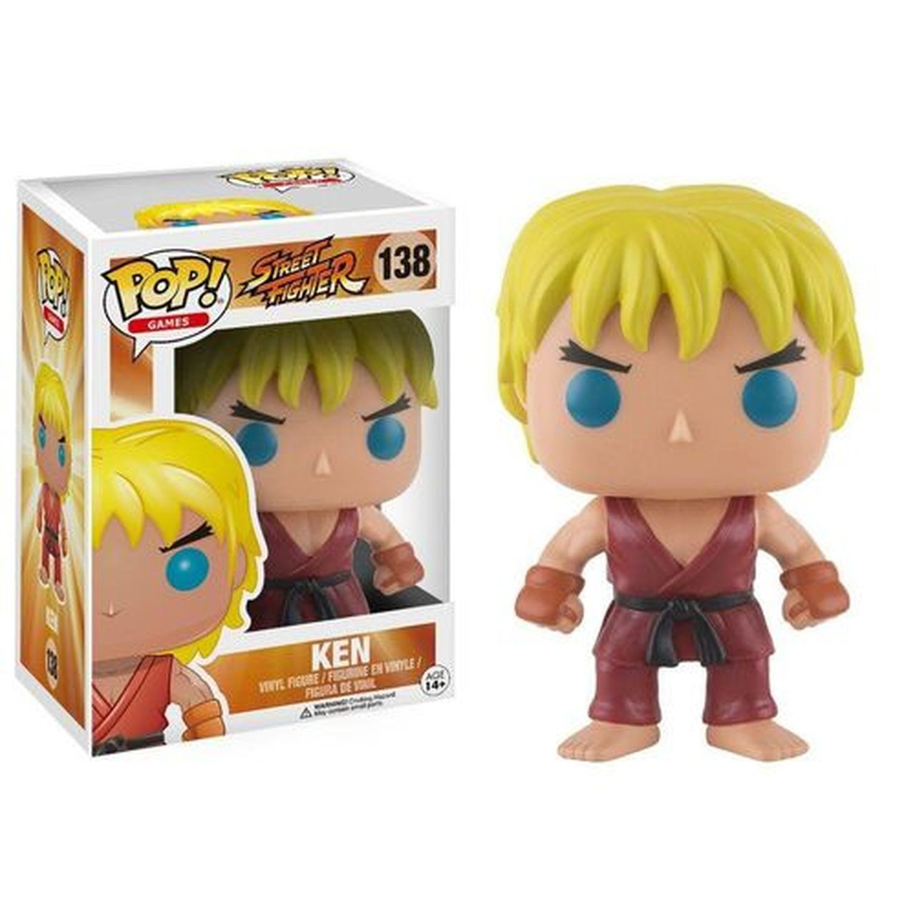 Funko Pop! Ken: Street Fighter #138 - Funko