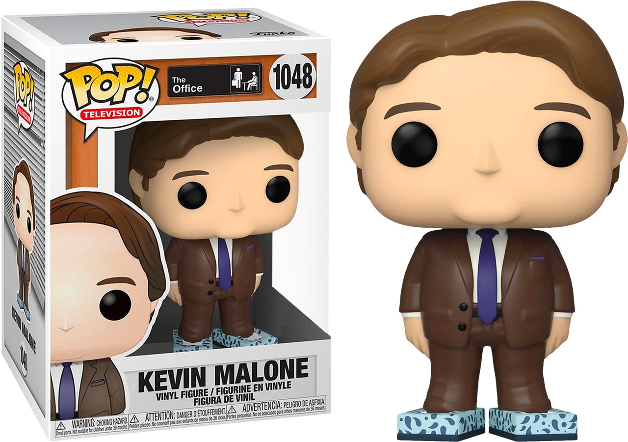 Funko Pop! Kevin Malone with Tissue Box Shoes: The Office ( Exclusivo ) #1048 - Funko