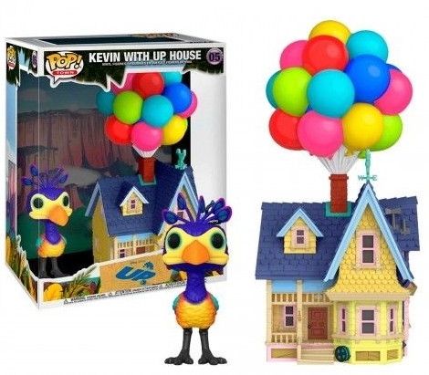Pop! Kevin com a Casa Up (Kevin with Up House): Up - Altas Aventuras (Exclusivo) #05 - Funko
