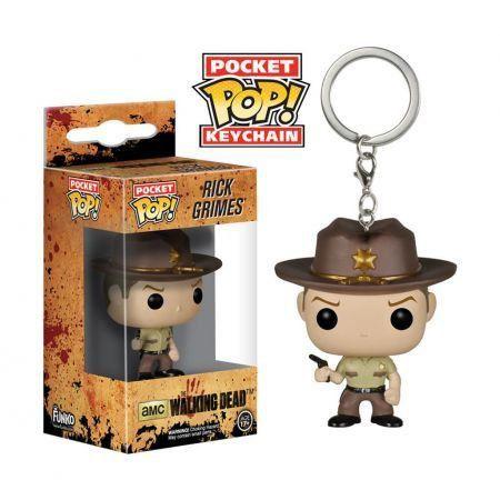 Funko Pocket Pop Keychains (Chaveiro) Rick Grimes: The Walking Dead - Funko