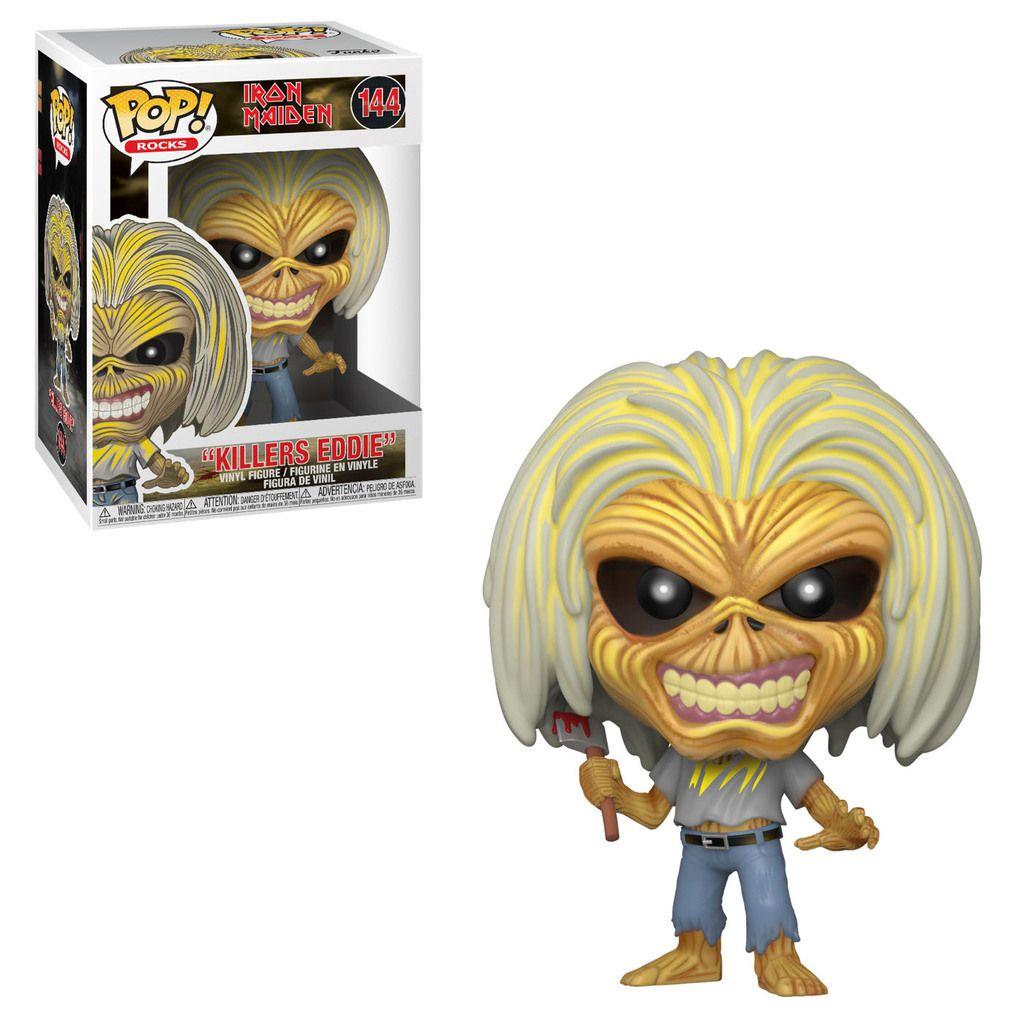 Funko Pop! Killers Eddie: Iron Maiden #144- Funko