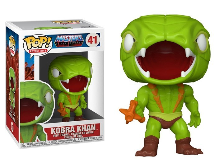 PRÉ VENDA: Funko Pop! Kobra Khan: Mestres do Universo (Masters of the Universe) #41  - Funko