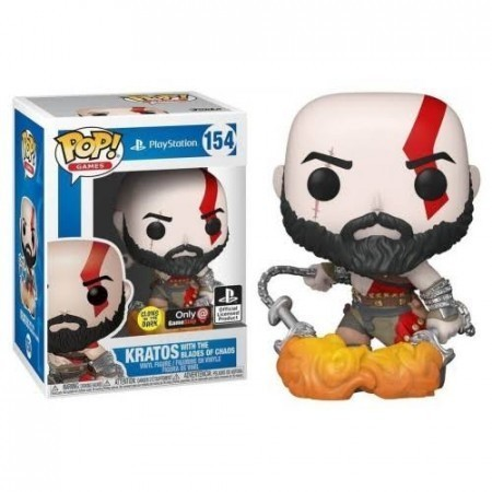 Funko Pop! Kratos: God of War (PlayStation) Exclusivo #154 - Funko