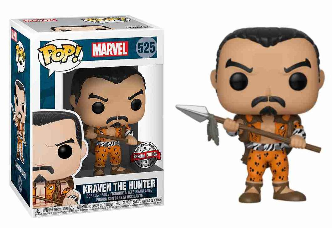 Funko Pop! kraven the hunter: Marvel Comicis #525 - Funko