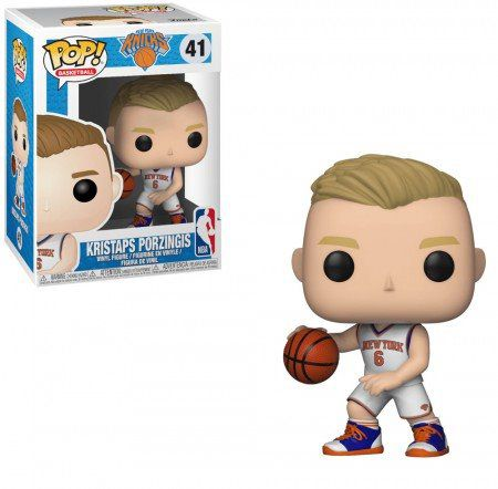 Funko Pop!  Kristaps Porzingis: NBA New York Knicks #41 - Funko
