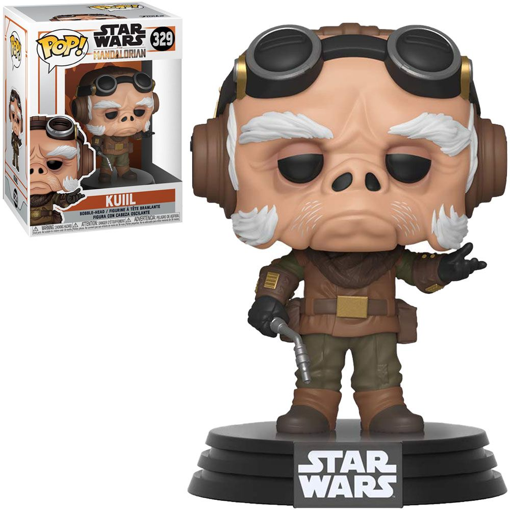 Funko Pop! Kuil: The Mandalorian (Star Wars) Disney+ #329 - Funko