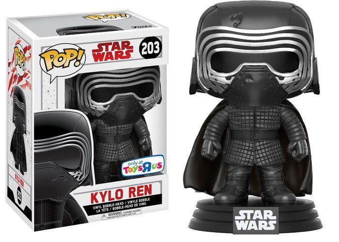 Funko Pop Kylo Ren com Máscara (Masked): Star Wars: Os Últimos Jedi (The Last Jedi) #203 - Funko