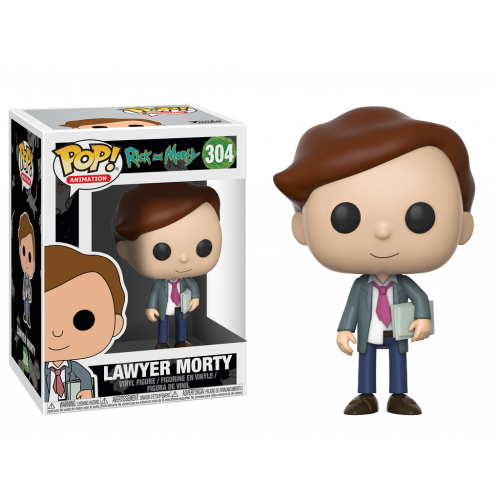 Funko Pop! Lawyer Morty: Rick and Morty #304 - Funko