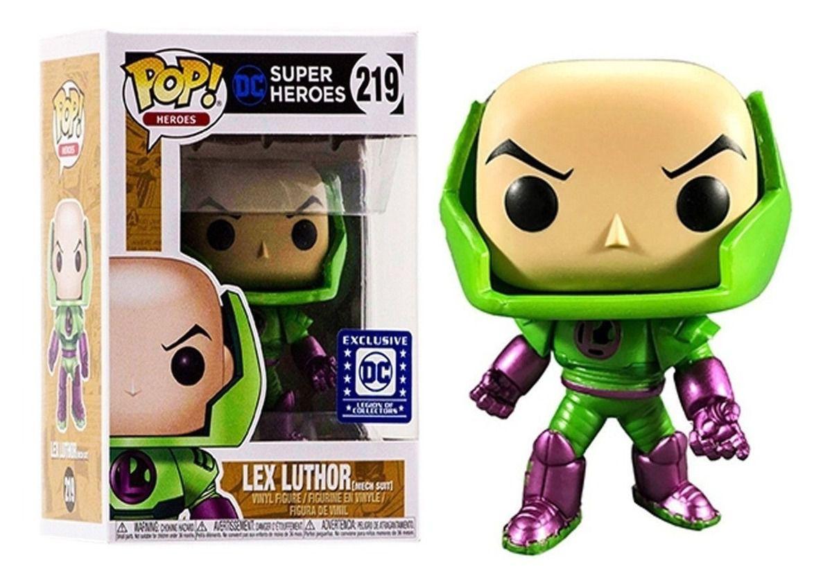 Funko Pop! Lex Luthor (Mech Suit): DC Legion Of Collectors (Exclusivo) #219 - Funko