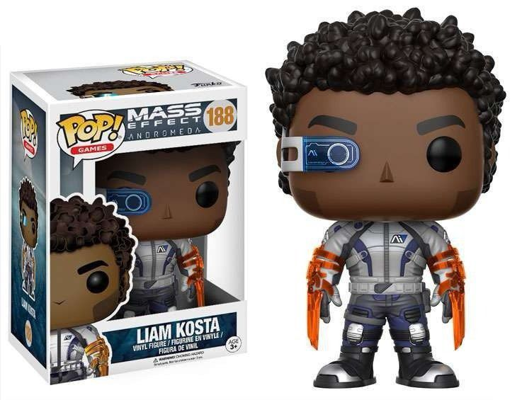 Funko Pop! Liam Kosta: Mass Effect Andromeda #188 - Funko Black Friday (Apenas Venda Online)