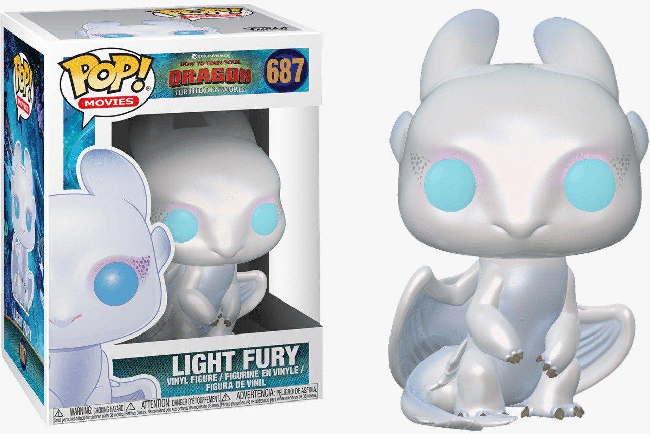 Funko Pop! Light Fury: Como Treinar o seu Dragão 3 #687 - Funko