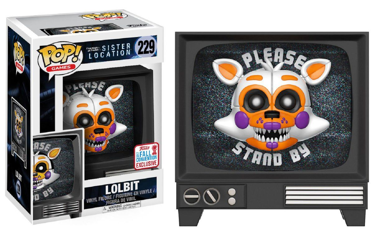 Funko POP! Lolbit: Five Nights at Freddy's - Sister Location #229 (Exclusivo) - Funko