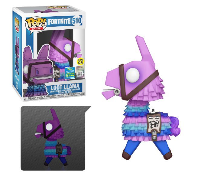 Pop! Loot Llama (Glow In The Dark): Fortnite (Exclusivo) #510 - Funko