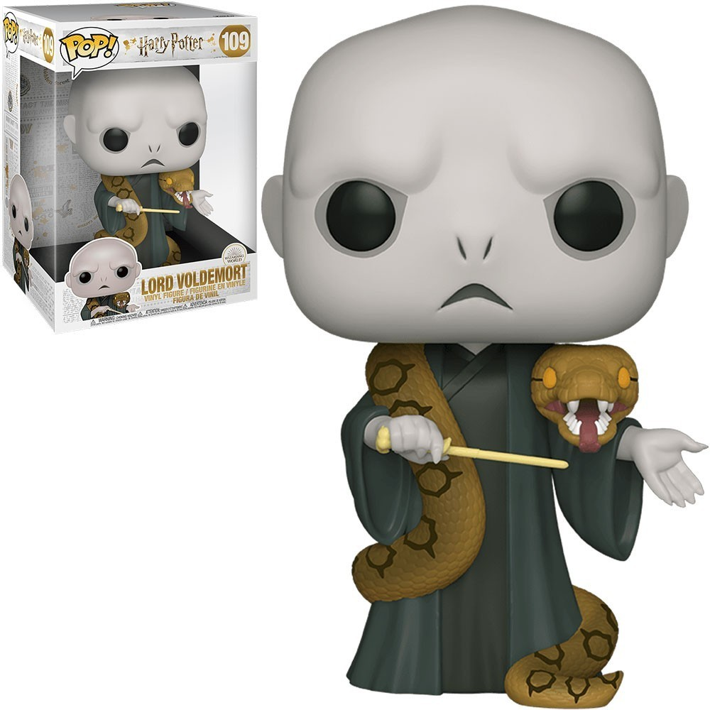 """Pop! Lord Voldemort: Harry Potter (Super Sized 10"""") #109"""