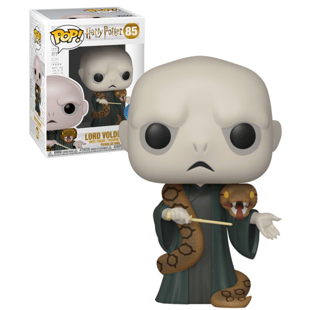 Funko Pop! Lord Voldemort (With Nagini): Harry Potter (Exclusivo)  #85 - Funko - EVALI