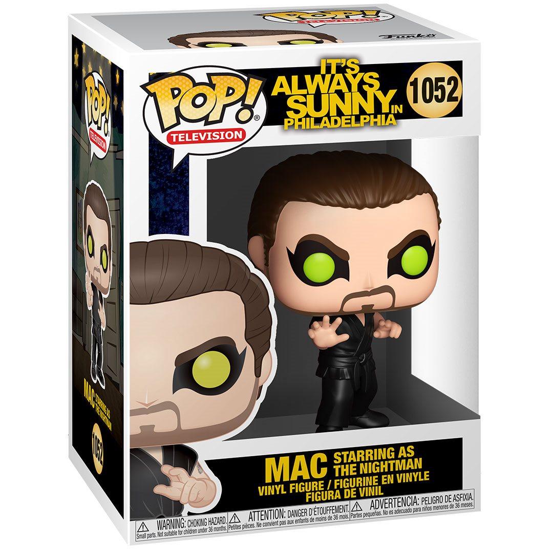 PRÉ VENDA: Funko Pop! Mac as The Nightman: It's Always Sunny In Philadelphia #1052 - Funko