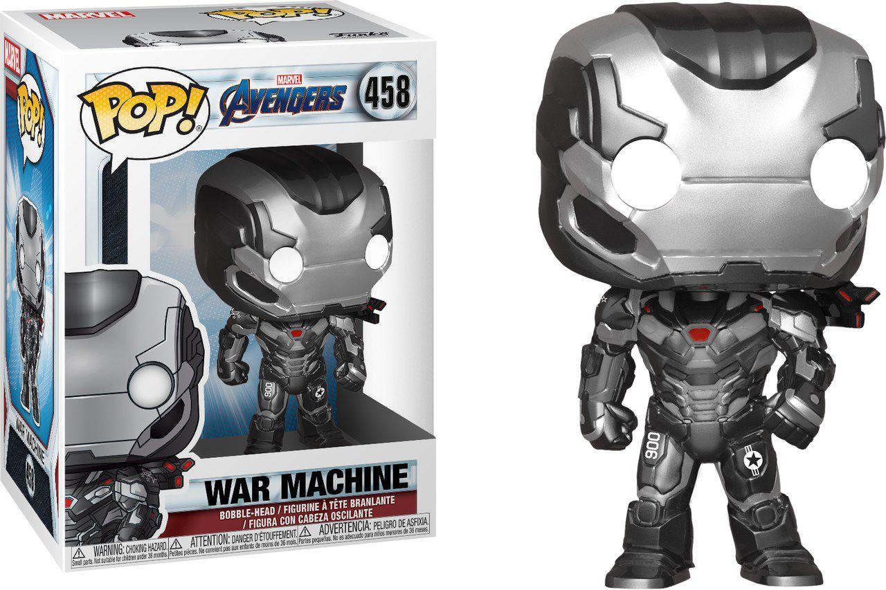 Funko Pop! Máquina de Combate (War Machine): Vingadores Ultimato (Avengers Endgame) #458 - Funko