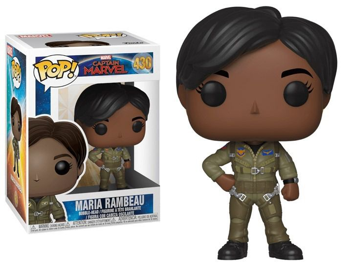 Funko Pop! Maria Rambeau: Capitã Marvel (Captain Marvel) #430 - Funko