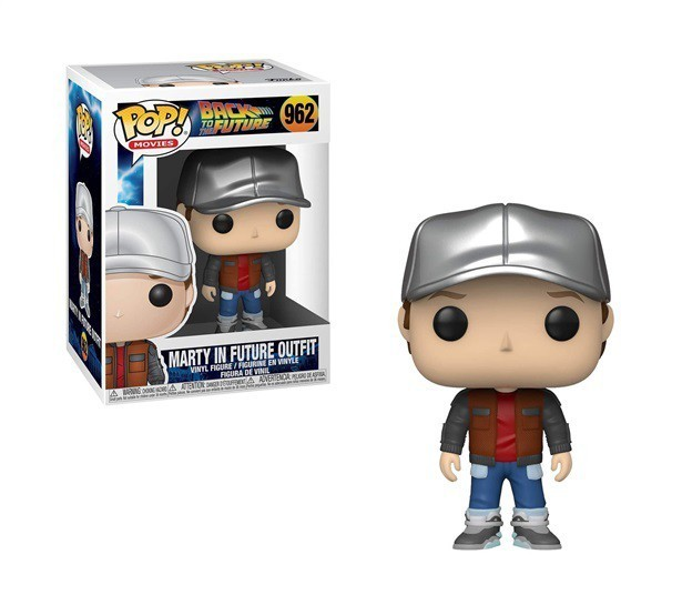 Funko Pop! Marty McFly (Future Outfit): De Volta Para o Futuro (Back to the Future) #962 - Funko