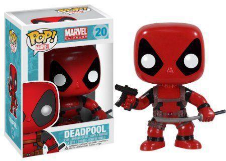 Funko Pop Deadpool (Com Arma e Espada): Marvel Universe #20 - Funko
