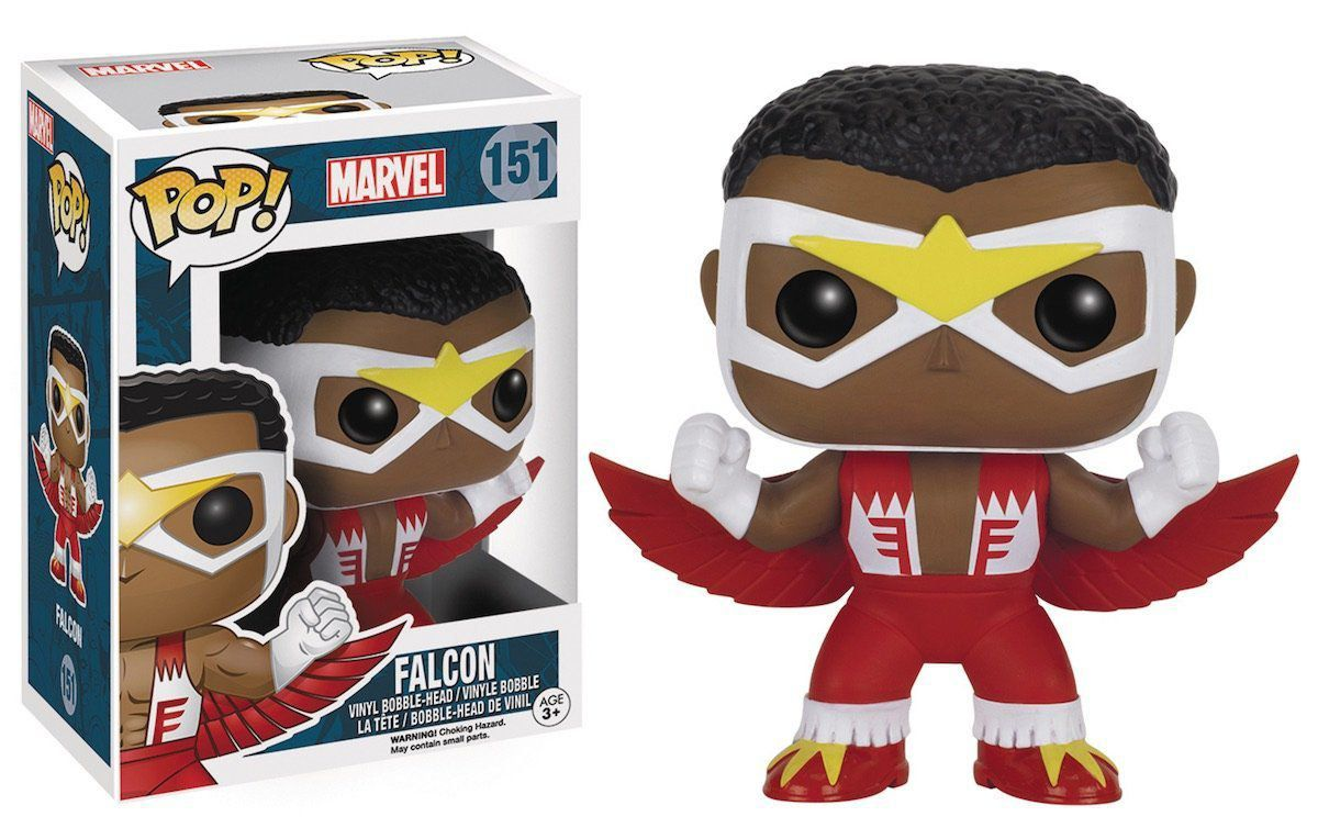 Funko Pop Falcão Clássico: Marvel #151 - Funko
