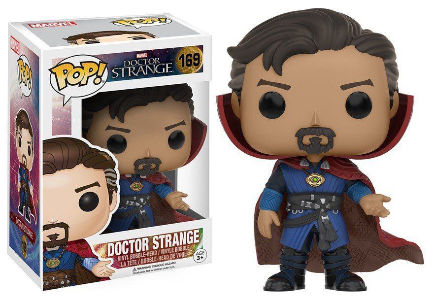 Funko Pop Doutor Estranho (Doctor Strange): Marvel Filme (Movie) #169 - Funko