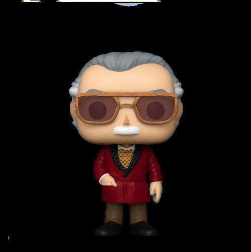 Funko Pop! Marvel: Stan Lee: (EXCLUSIVO SDCC 2020) Edição Limitada #656 - Funko