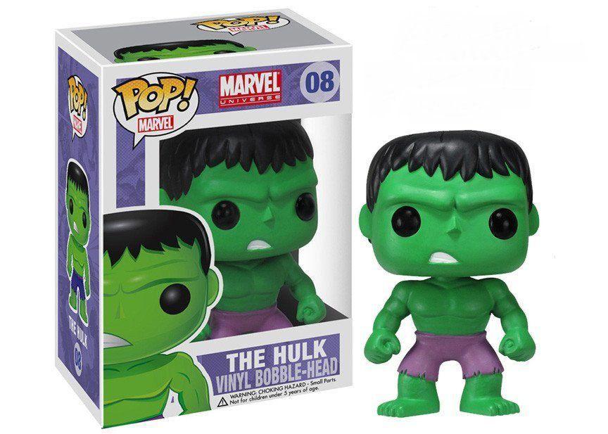 Funko Pop Hulk: Marvel Universe #08 - Funko