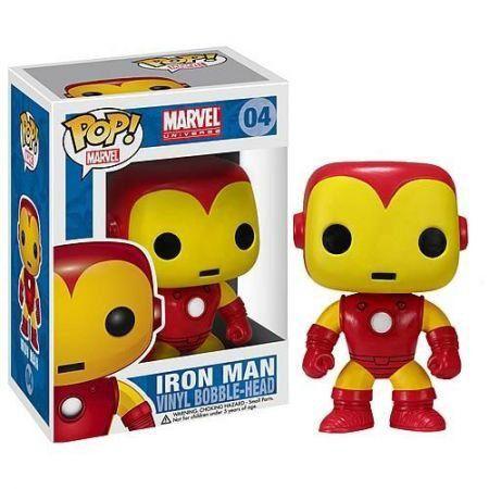 Funko Pop Homem de Ferro (Iron Man): Marvel Universe #04 - Funko