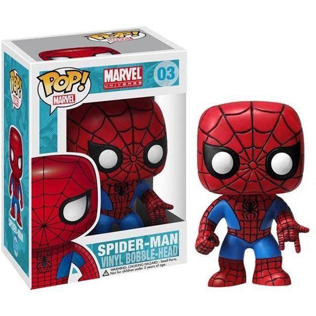 Funko Pop Spider-Man (Homem-Aranha): Marvel Universe #03 - Funko