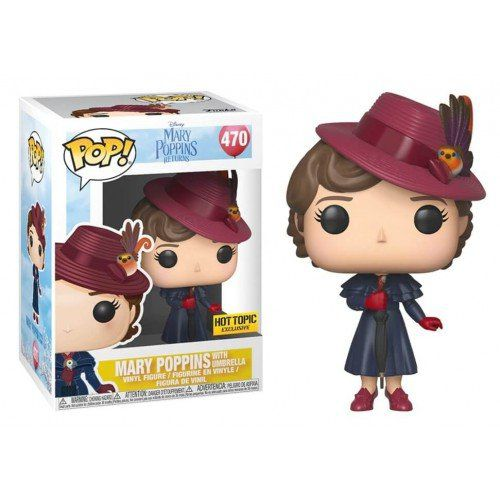 Pop  Mary Poppins (with Umbrella): Mary Poppins Returns (Exclusivo) #470 - Funko