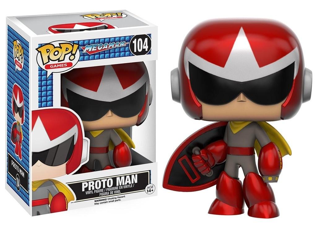 Funko Pop Proto Man: Mega Man #104 - Funko