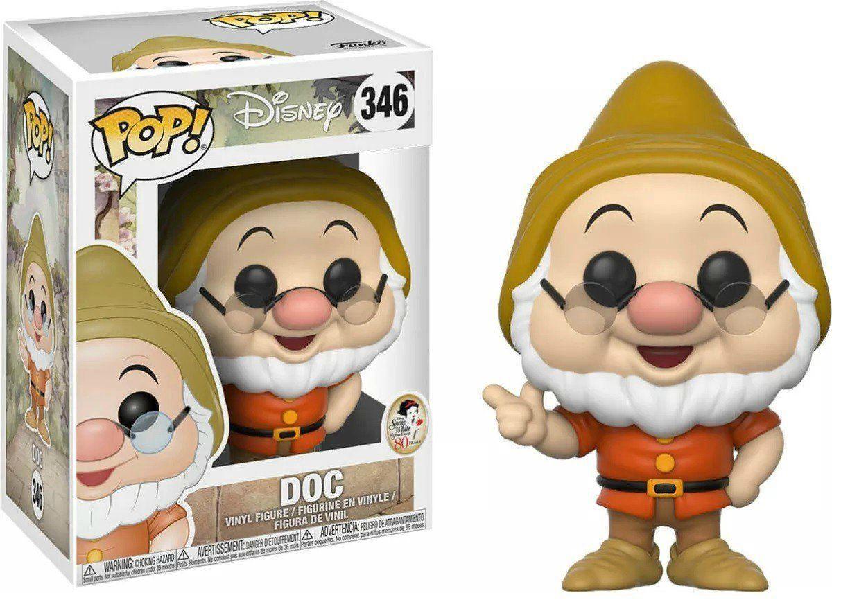 Funko Pop! Mestre (Doc): Branca de Neve e os Sete Anões (Disney) #346 - Funko