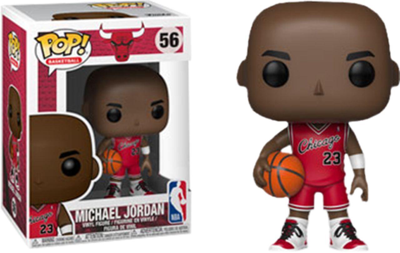 Funko Pop! Michael Jordan: Chicago Bulls (NBA) Exclusivo #56 - Funko  - Toyshow Geek e Colecionáveis Tudo em Marvel DC Netflix Vídeo Games