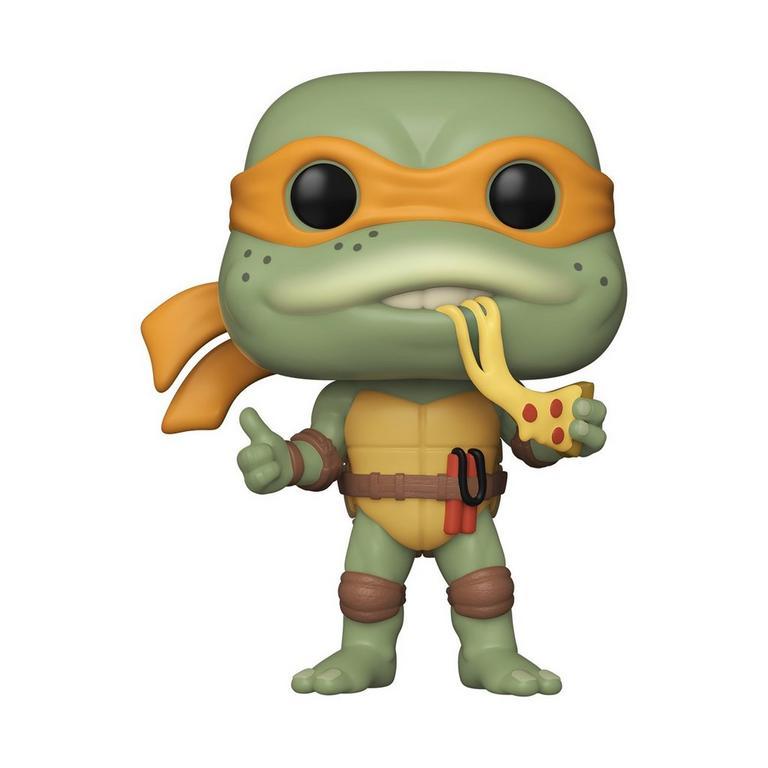 Funko Pop! Michelangelo Tartaruga Ninja: (TMNT - Michelangelo ) Retro Toys #18 - Funko