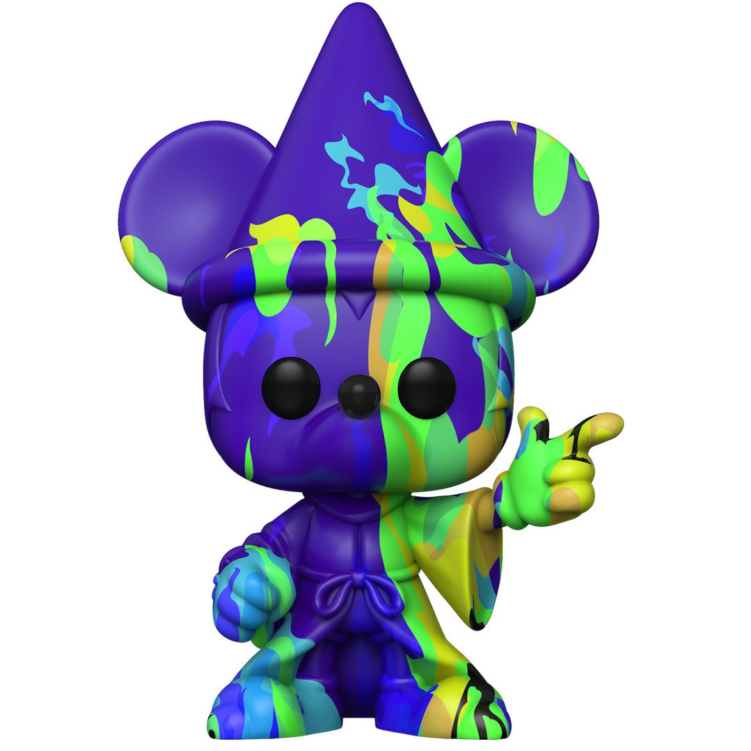 PRÉ VENDA: Funko Pop! Mickey #2 (Artist Series): Disney Fantasia 80th Anniversary  - Funko