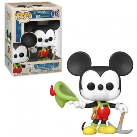 Funko Pop! Mickey Aventureiro (Aniversário 65 Anos) #812 - Funko