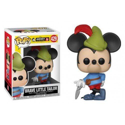 Funko Pop! Mickey (Brave Little Tailor): Mickey Mouse 90th Anniversary (Disney) #429 - Funko