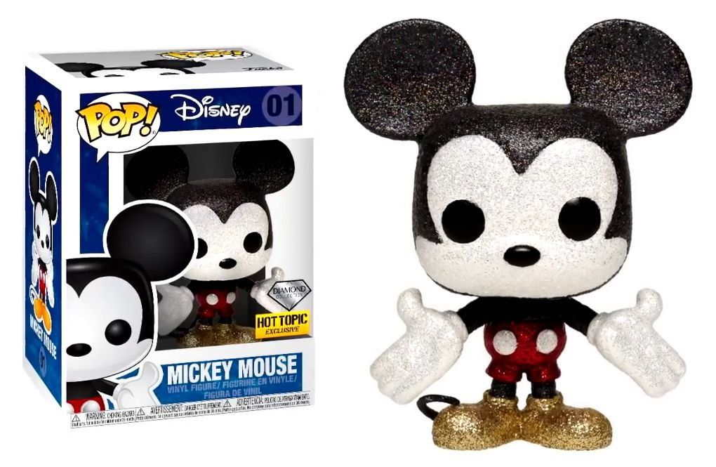 Funko Pop! Mickey: Disney (Diamond) (Exclusivo) #01 - Funko