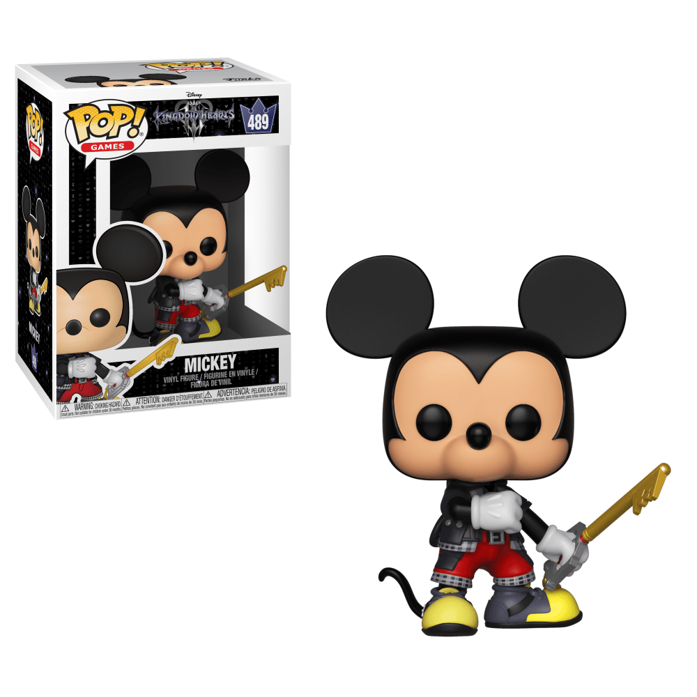 Funko Pop! Mickey: Kingdom Hearts (Disney) #489 - Funko