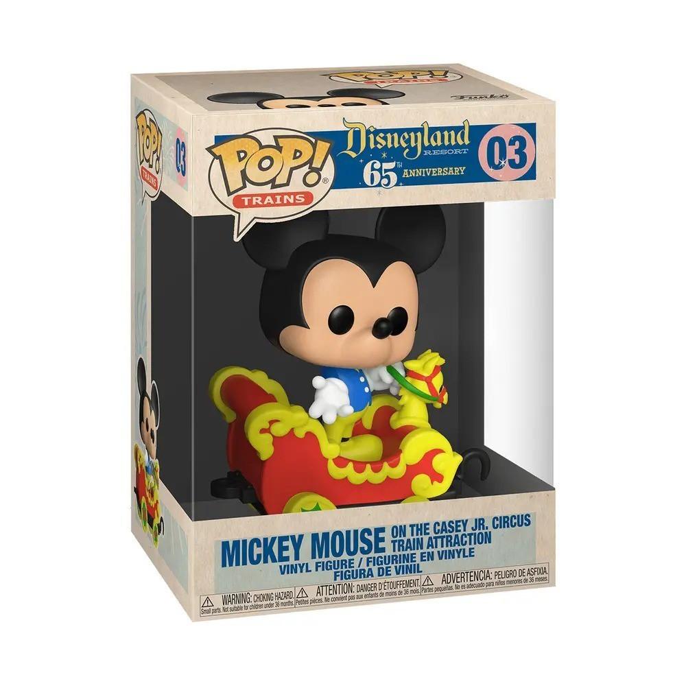Funko Pop! Mickey no Carrinho do Trem (Aniversário 65 Anos) #03 - Funko