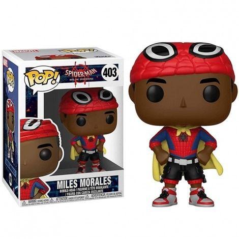 Funko Pop! Miles Morales: Homem Aranha: No Aranhaverso (Spider-Man Into the Spider-Verse) #403 - Funko