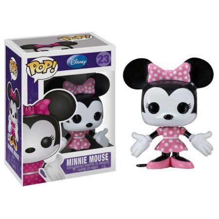 Funko Pop Minnie Mouse (Rosa): Disney #23 - Funko