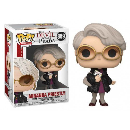 PRÉ VENDA: Funko Pop! Miranda Priestly: O Diabo Veste Prada (The Devil Wears Prada) #869 - Funko - EV